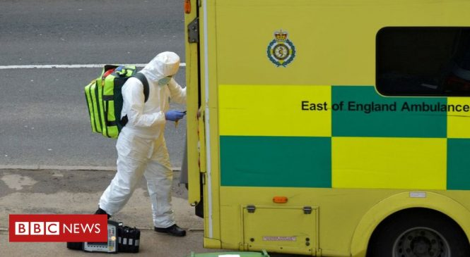 Coronavirus: Ambulance staff 'feeling unprotected'