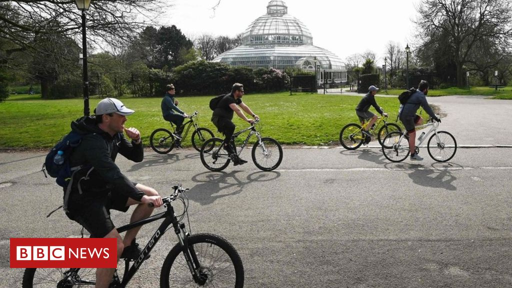 Coronavirus: Google data suggests park visits rose on weekend