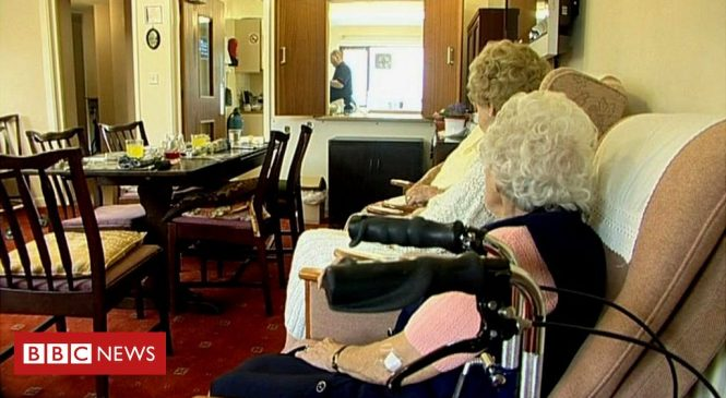 Coronavirus: Care home deaths up as hospital cases fall