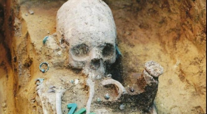 Artifacts, skulls at ancient cemetery reveal early multicultural community in Europe