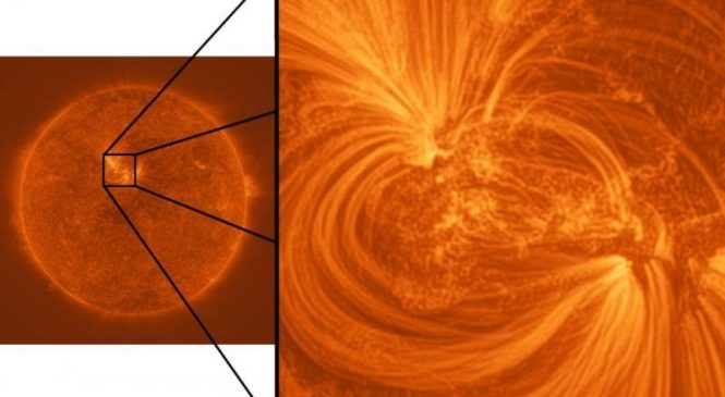 Fine threads of million-degree plasma revealed in sharpest-ever images of sun