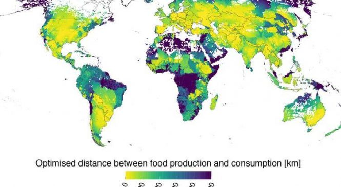 For most of the world, it's impossible to 'eat local'