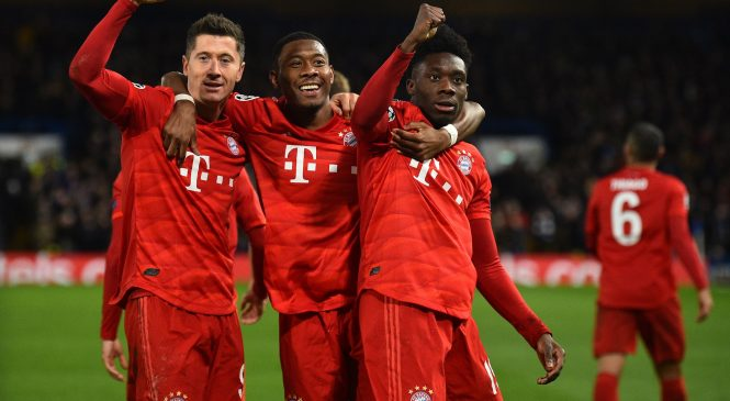 Bayern Munich players to return to training in 'small groups' on Monday for first time since Bundesliga was suspended, German champions confirm