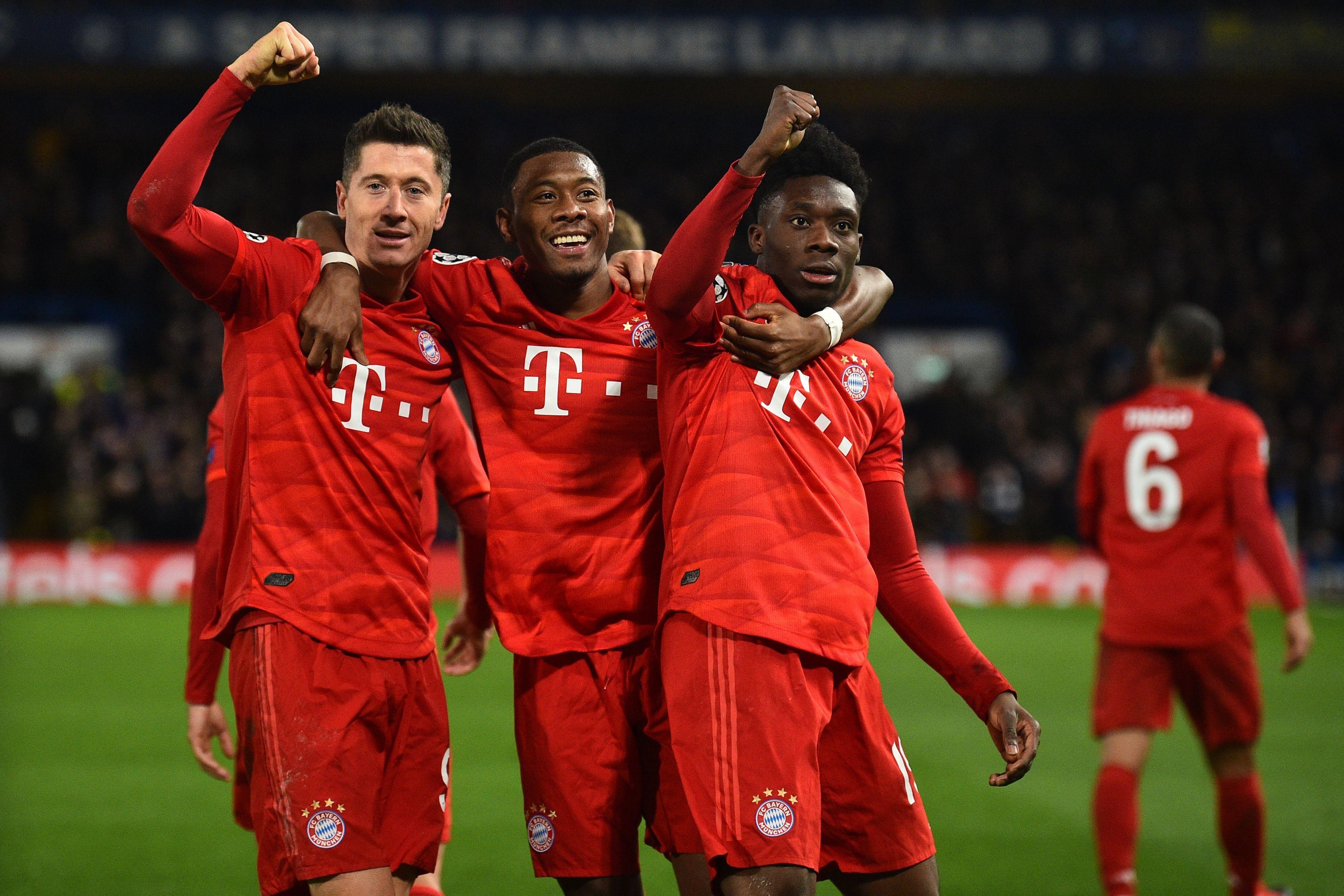 Bayern Munich players will return to training on Monday