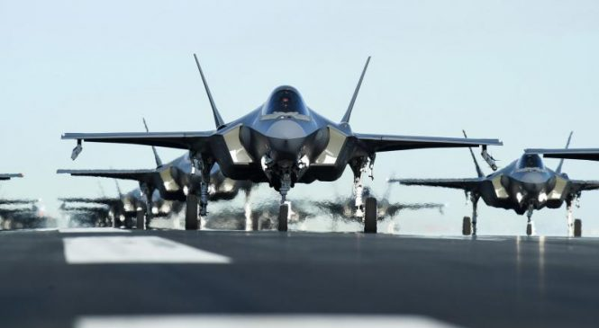 Lockheed awarded $14.9M for work on F-35s for Navy, Air Force, partners
