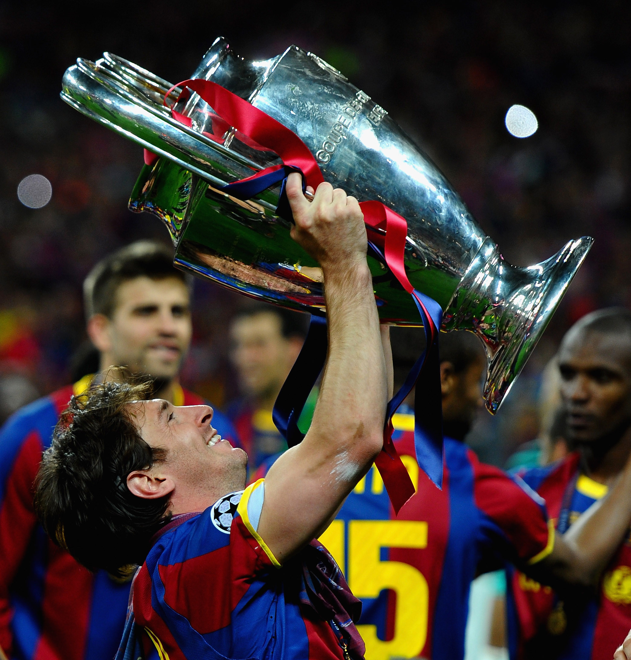 Lionel Messi has won four Champions League titles with Barcelona