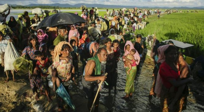 U.N. Rights chief Rupert Colville condemns deaths of 32 in Myanmar ethnic fighting