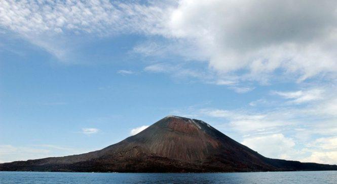 Indonesia's Anak Krakatau volcano shoots ash, lava