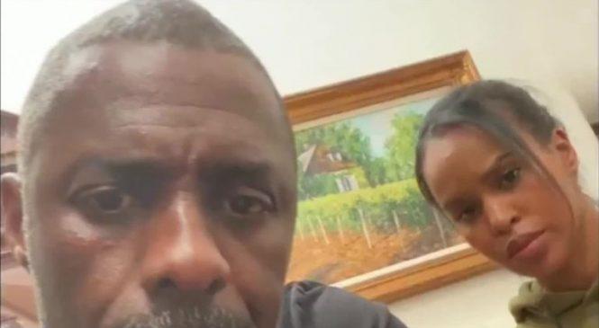 Idris Elba denies suggesting annual week of lockdown
