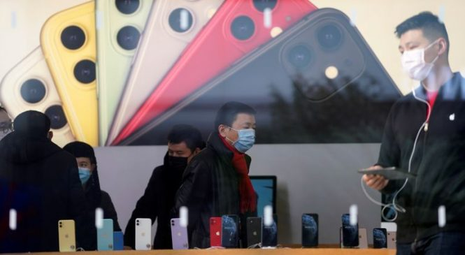 Global lockdowns take bite out of Apple iPhone sales