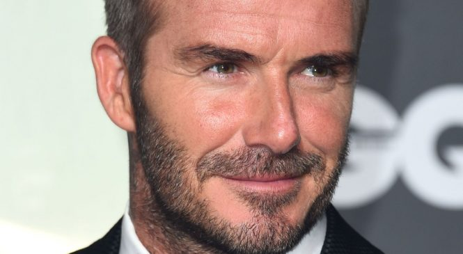 David Beckham backs meals campaign for coronavirus key workers