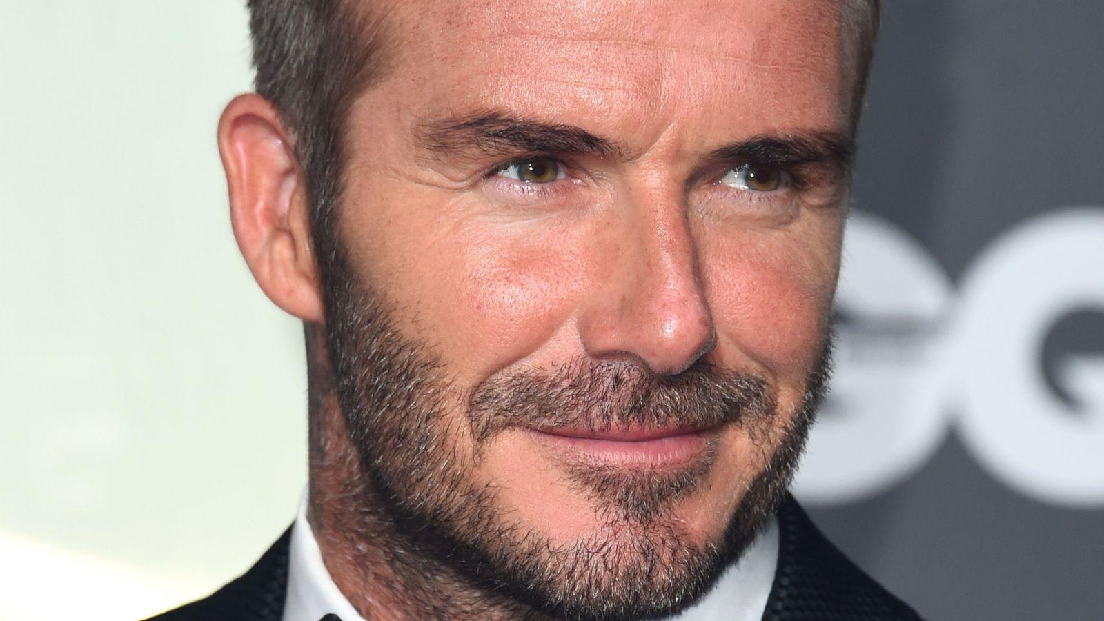 David Beckham backs meals campaign for coronavirus key workers