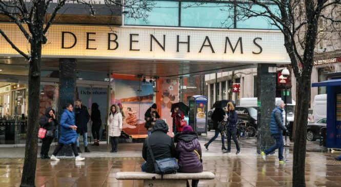 Debenhams moves to protect itself from creditors in virus crisis