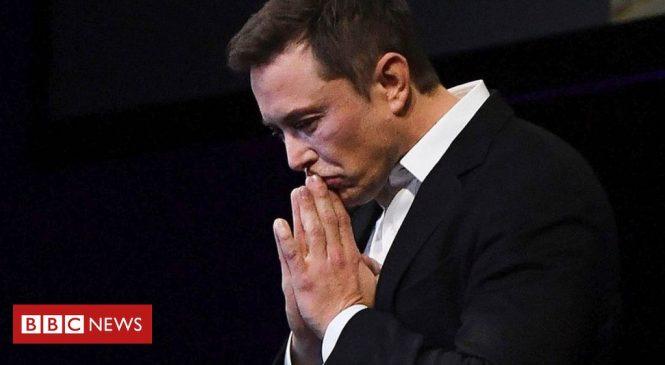 Elon Musk tweet wipes $14bn off Tesla's value