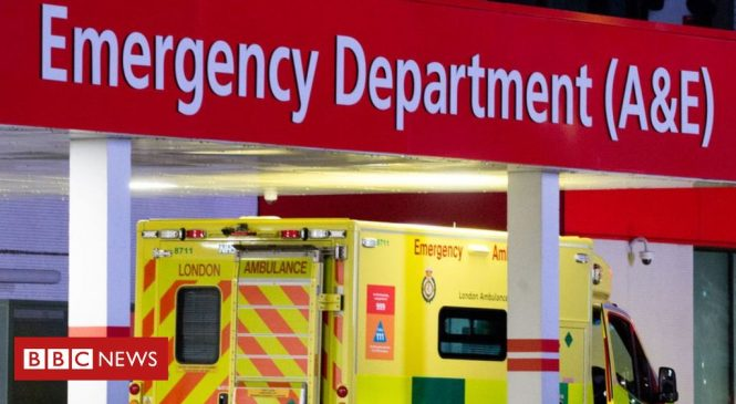 Coronavirus: A&E visits in England down to record low