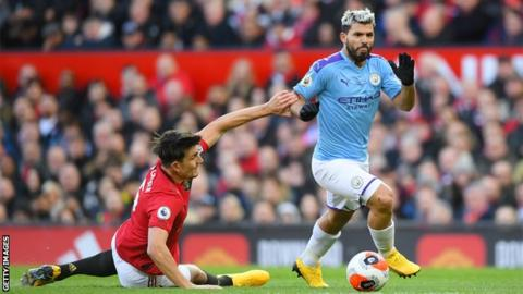 Sergio Aguero: Players 'scared' about Premier League return