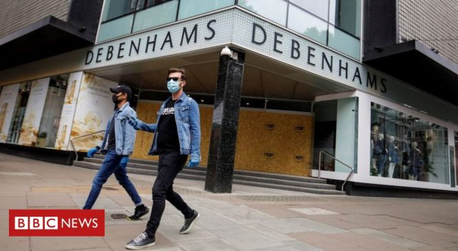 Coronavirus: Debenhams to close five stores after lockdown ends