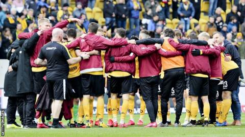 Bundesliga: Dynamo Dresden's entire squad in isolation just a week before restart