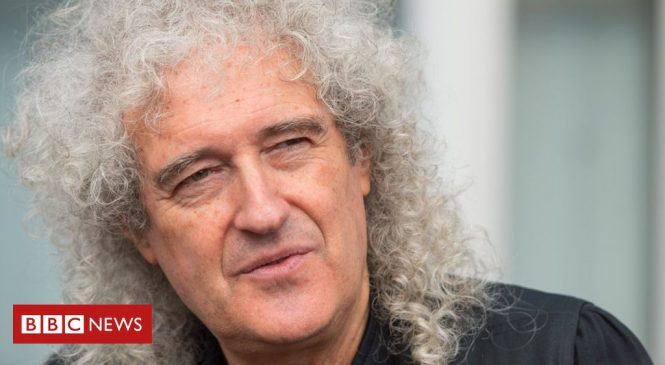 Brian May says he was 'very near death' after a heart attack