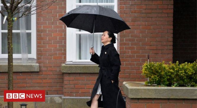 Meng Wanzhou: Huawei executive suffers US extradition blow
