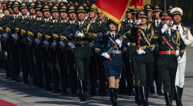 China's 2020 military budget growth is 6.6 percent, a decline from 2019