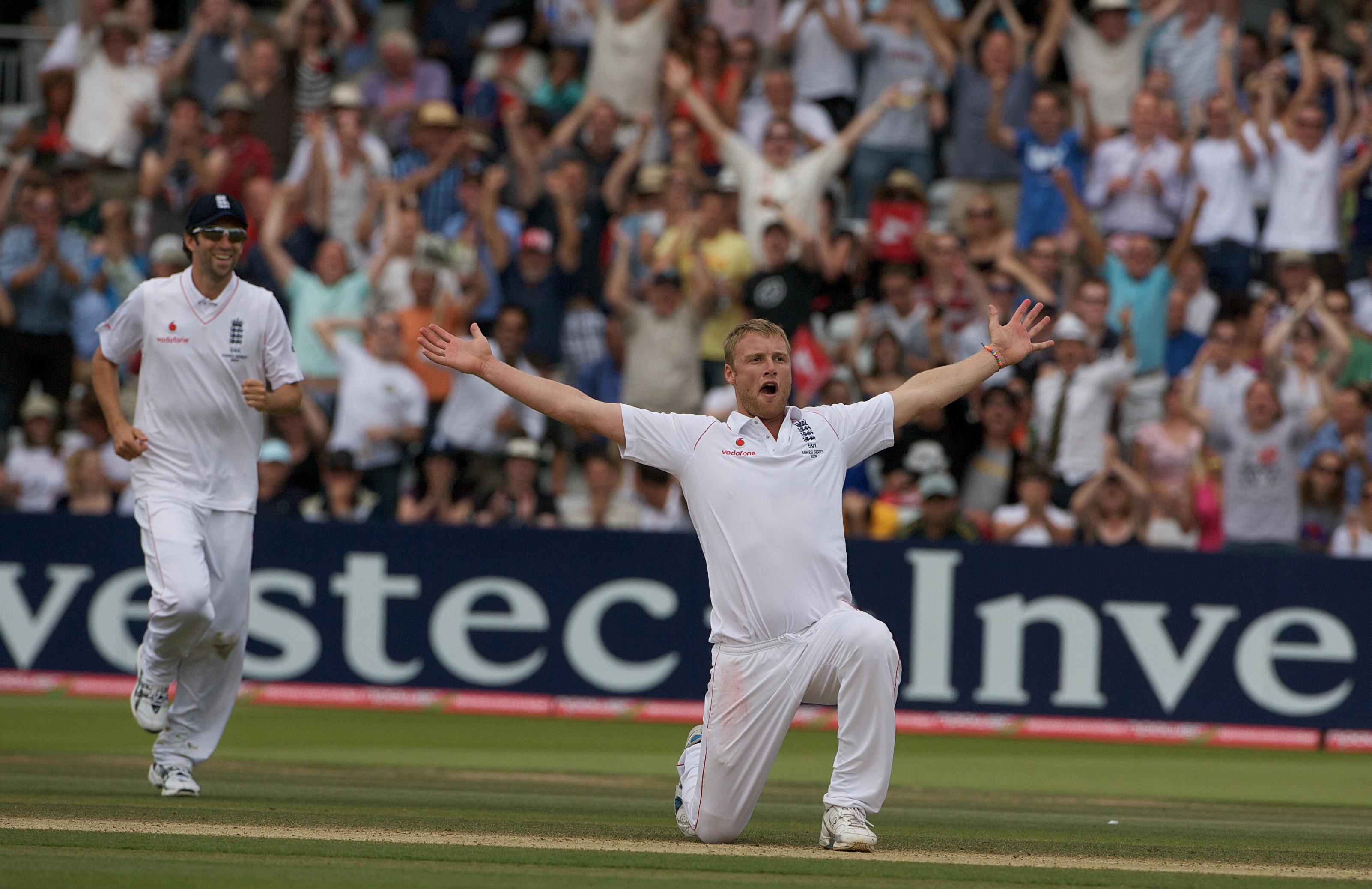 Freddie Flintoff is an England cricket great