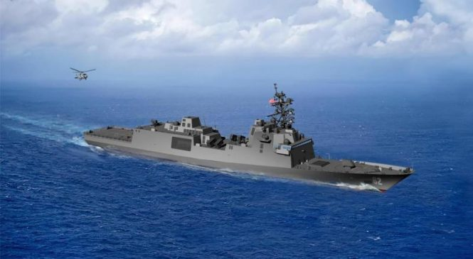 Marinette Marine nets $795.1M for 10 Guided Missile Frigates for Navy