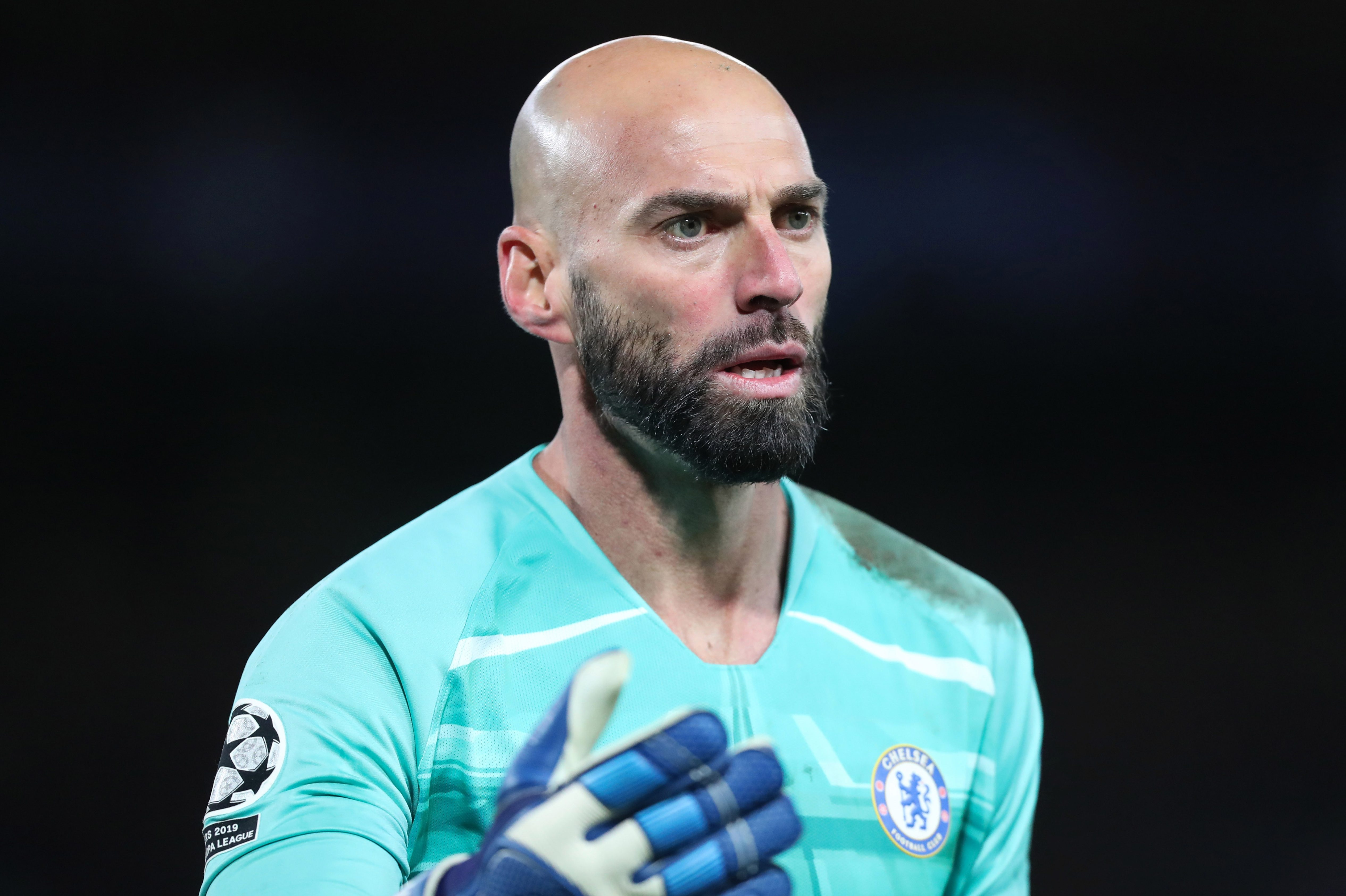 Willy Caballero was given game time when Kepa Arrizabalaga was dropped