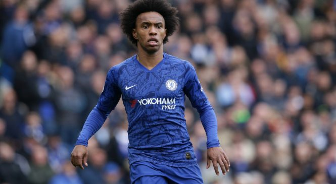 Willian sensationally claims that moving to Arsenal or Tottenham 'would be fine' with Chelsea contract set to expire this summer