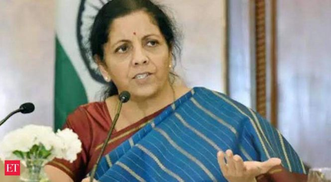 Working capital loan sanctions doubled in 2 days: Nirmala Sitharaman
