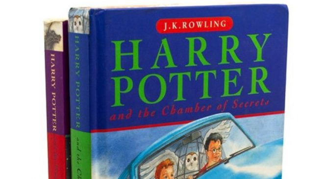Harry Potter first edition found in skip sells for £33,000