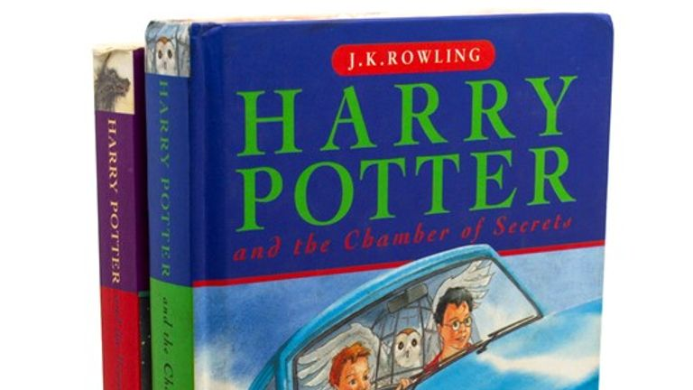 The second and third books in the series also sold in the collection. Pic: Hansons