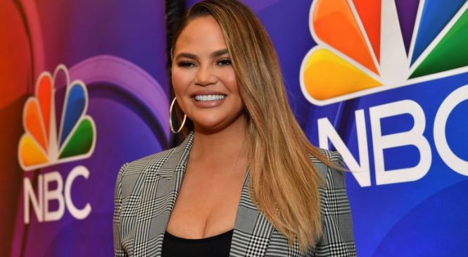 'I'm getting my boobs out!': Chrissy Teigen reveals plan to remove implants