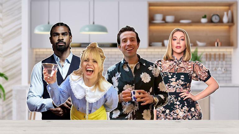 Table For 1 Million - David Haye, Paloma Faith, Nick Grimshaw, Katherine Ryan
