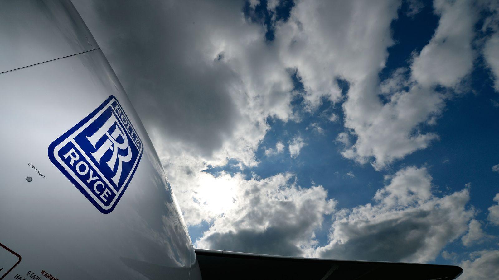 Rolls Royce 'to cut 8,000 jobs' as coronavirus lockdown hits air travel