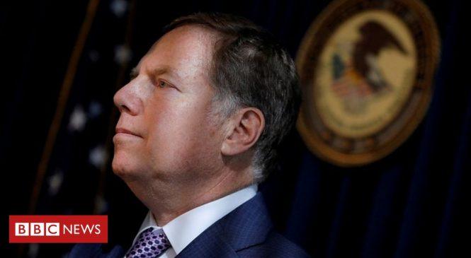 US Attorney Geoffrey Berman denies he is stepping down