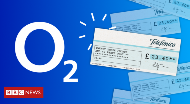 O2 sends surprise refund cheques after 15 years