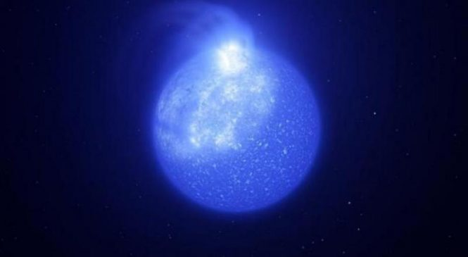 Astronomers find hot stars peppered with massive magnetic spots