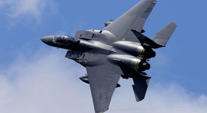 Body of F-15 pilot found after crash