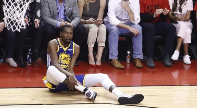 Brooklyn Nets star Kevin Durant rules himself out for rest of season