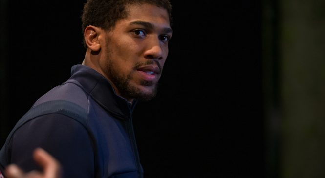 Anthony Joshua blasts back at critics after Black Lives Matter protest speech: 'If you think I'm a racist, go f*** yourself'