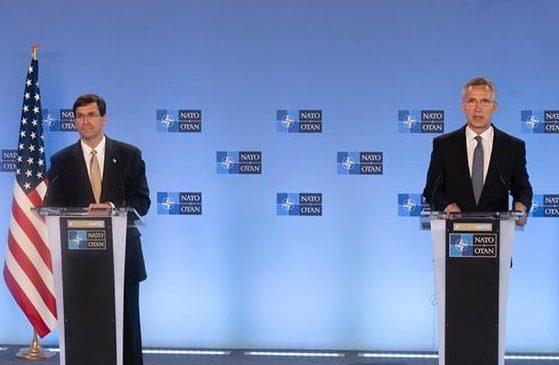 Defense Secretary Mark Esper visits NATO with assurance of U.S. commitment