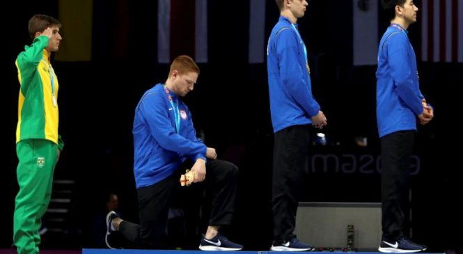 Olympians face punishment if they kneel in protest at Tokyo 2021