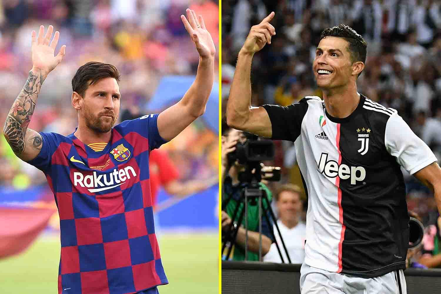 Lionel Messi and Cristiano Ronaldo are considered the best in the world