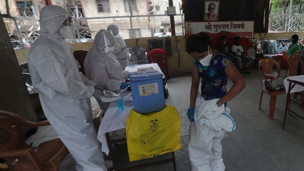 The Latest: Flight departs UK to deliver virus aid to Africa