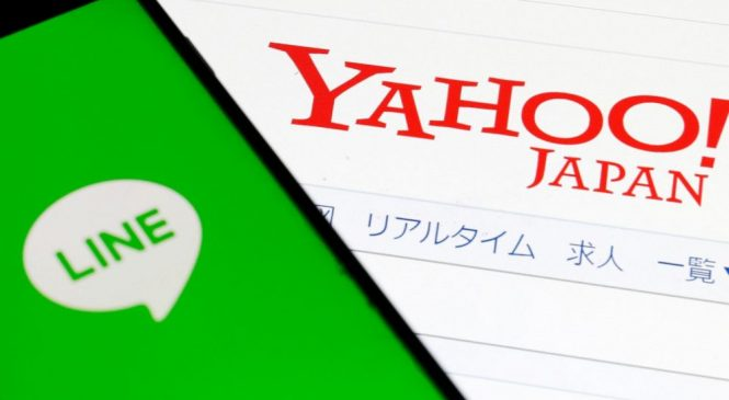 Pandemic delays Yahoo Japan, Line merger past October