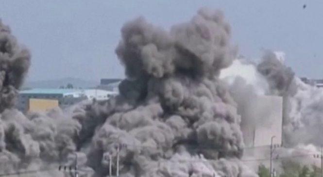 North Korea suspends military retaliation against South Korea