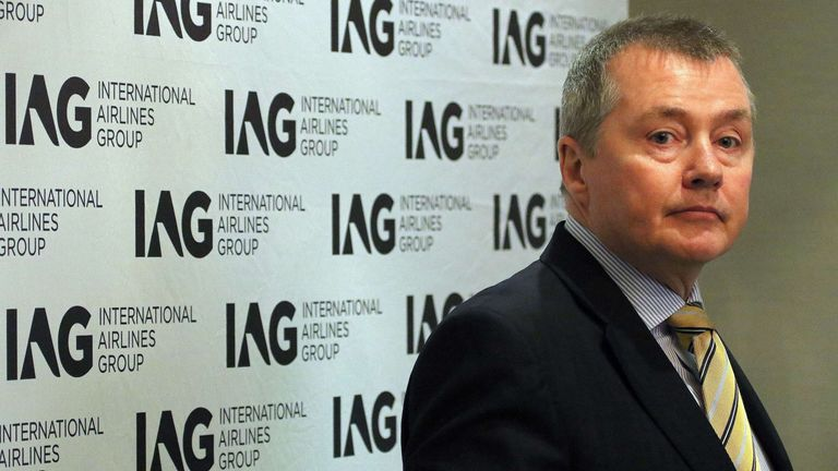 Willie Walsh led Aer Lingus, British Airways and later the expanded IAG parent firm