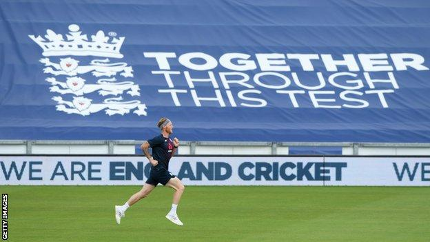 England v West Indies: Ben Stokes ready for 'massive occasion'