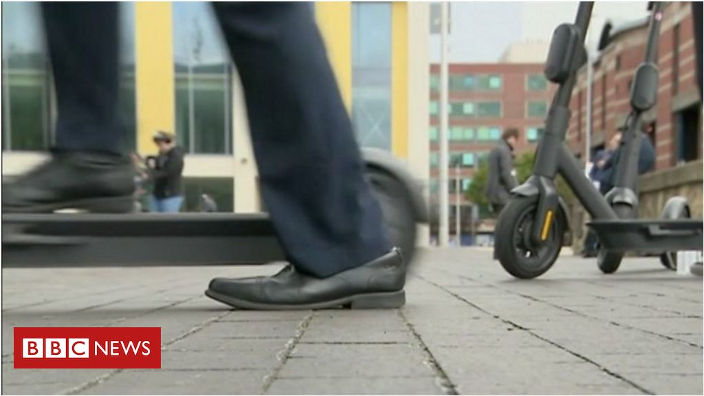 UK's first e-scooter trial starts in Middlesbrough